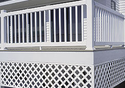 Veranda Plastic Lattice